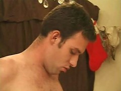 Gay bear cutie deeply sucking and swallowing long dick